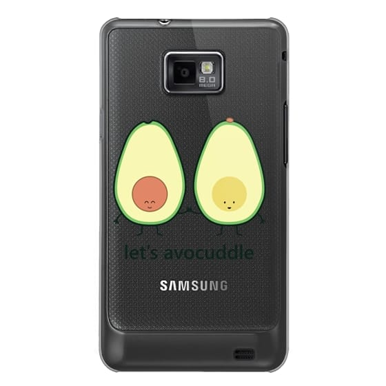 Samsung Galaxy S2 Cases - Let's Avocuddle (avocado)