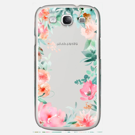 Lush Floral Watercolor Transparent by Julie Song Ink