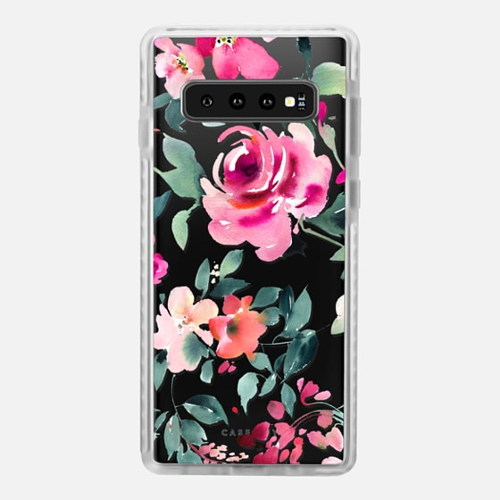 Samsung Galaxy / LG / HTC / Nexus Phone Case - Bold Rose Floral