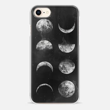 iPhone 8 Case Moon Phases by Kelli Murray