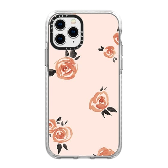 iPhone 11 Pro Cases - Garden Rose by Kelli Murray