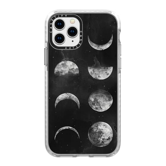 iPhone 11 Pro Cases - Moon Phases by Kelli Murray