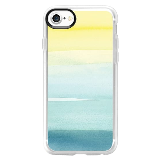 iPhone 7 Cases - Turquoise Wash by Yao Cheng