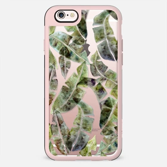 Banana Leaves by No Ocean - New Standard Case