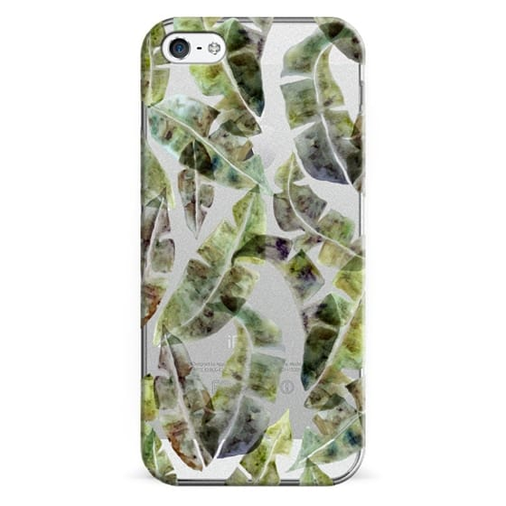 iPhone 5 Cases - Banana Leaves by No Ocean