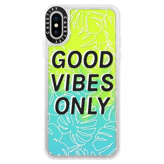 iPhone X Cases - Good Vibes Only