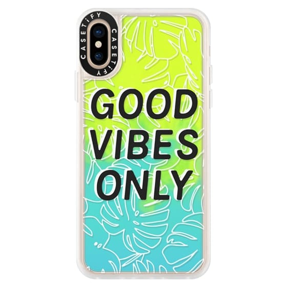 iPhone XS Cases - Good Vibes Only