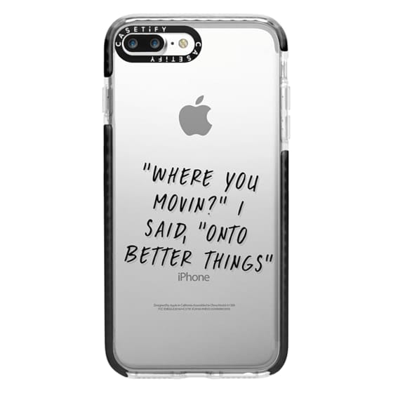 iPhone 7 Plus Cases - Drake Lyrics 2 - Onto Better Things