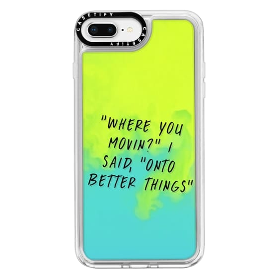 iPhone 8 Plus Cases - Drake Lyrics 2 - Onto Better Things