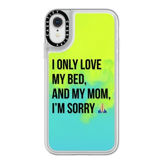 iPhone XR Cases - Drake Lyrics - Only Love My Bed And My Mom I'm Sorry