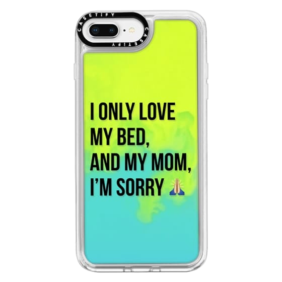 iPhone 8 Plus Cases - Drake Lyrics - Only Love My Bed And My Mom I'm Sorry