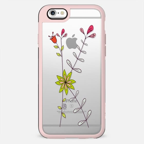 "Floral ""K""  - Your Initial - New Standard Case"