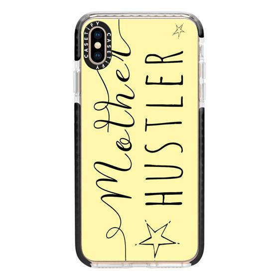 iPhone XS Max Cases - Mother Hustler Sunshine