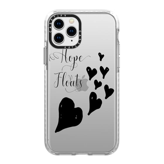 iPhone 11 Pro Cases - hope floats black