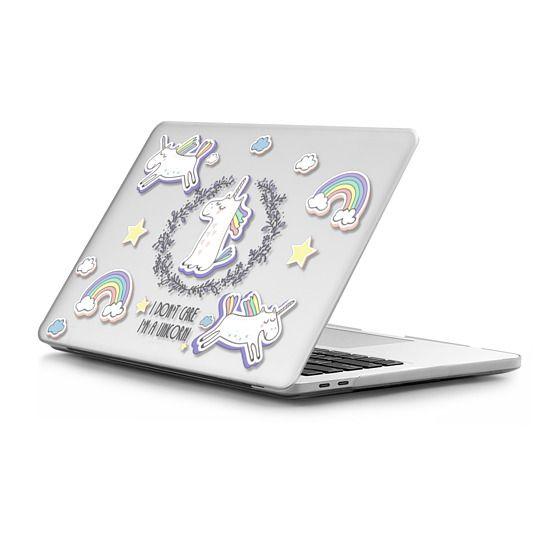 MacBook Pro Touchbar 13 Sleeves - Don't Care Unicorn