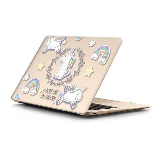 MacBook 12 Sleeves - Don't Care Unicorn