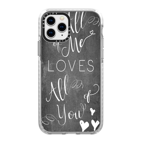 iPhone 11 Pro Cases - all of me chalkboard