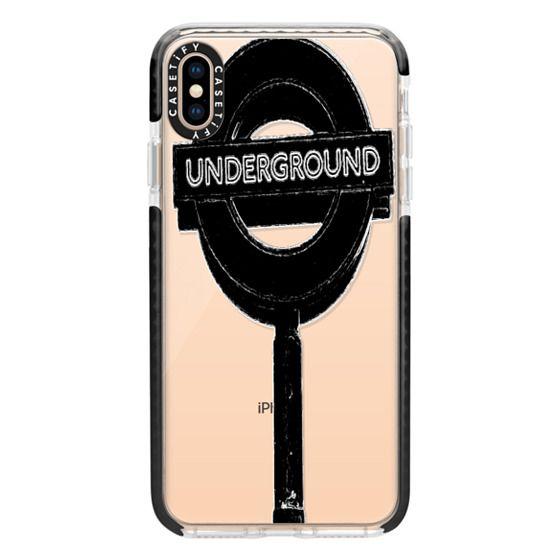 iPhone XS Max Cases - Underground Black