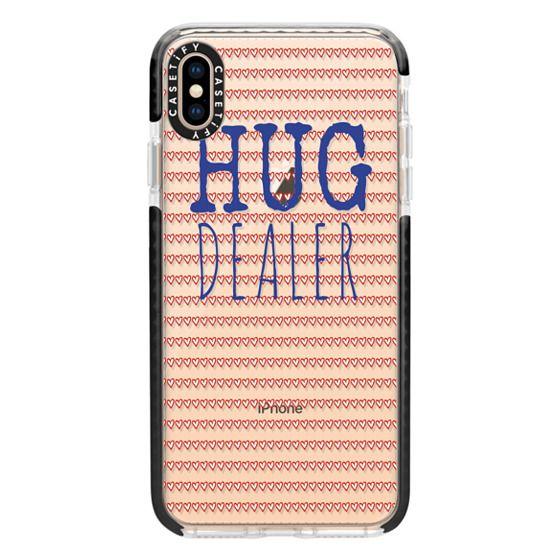 iPhone XS Max Cases - Hug Dealer Navy