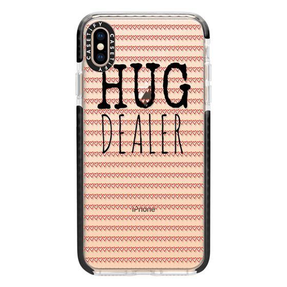 iPhone XS Max Cases - Hug Dealer Black