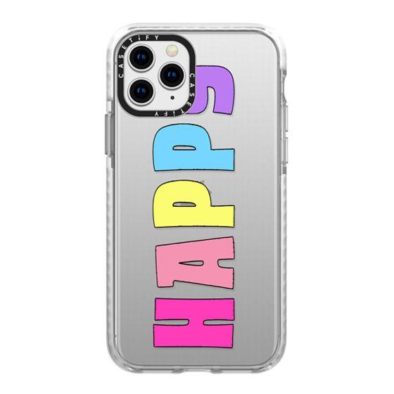 iPhone 11 Pro Cases - happy pastel