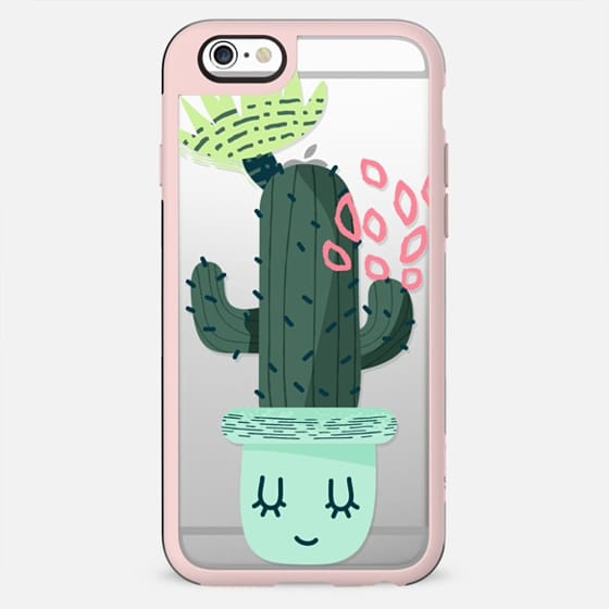 Happy Cactus - Green Pink Mint