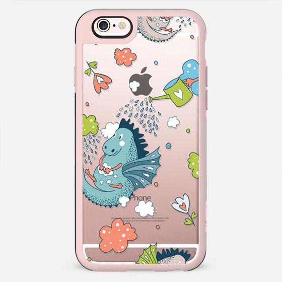 Dragon Showers Bring Heart Flowers - New Standard Case