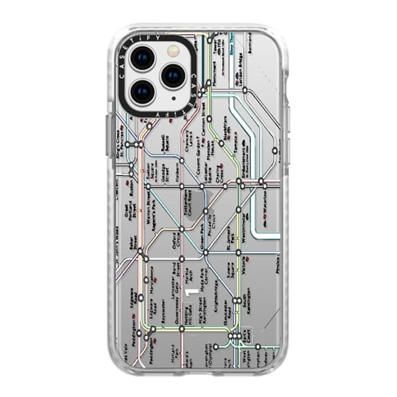iPhone 11 Pro Cases - London Tube Map