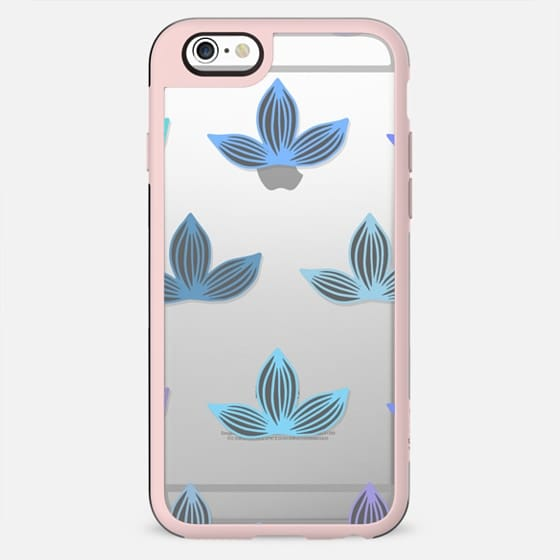 Lovely Lotuses Purple & Blue