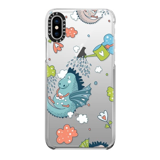 iPhone 6s Cases - Dragon Showers Bring Heart Flowers