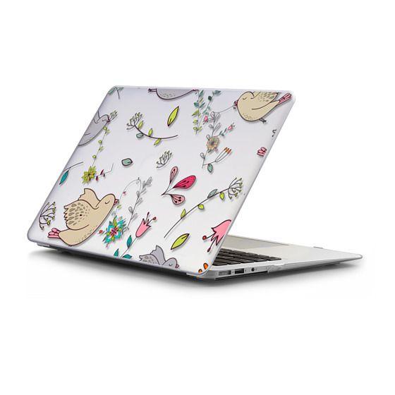 MacBook Air 13 Sleeves - Love Pattern Floral and Birds