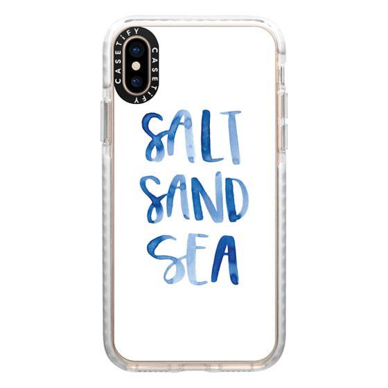 iPhone XS Cases - Sea by Green Tie Studio