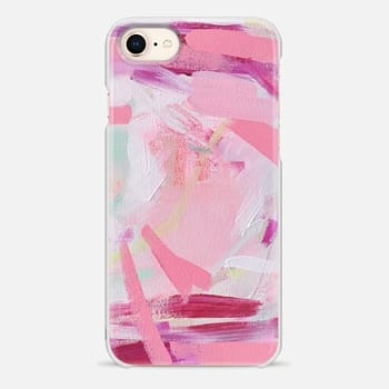 iPhone 8 Case Pink Farm by Britt Bass Turner