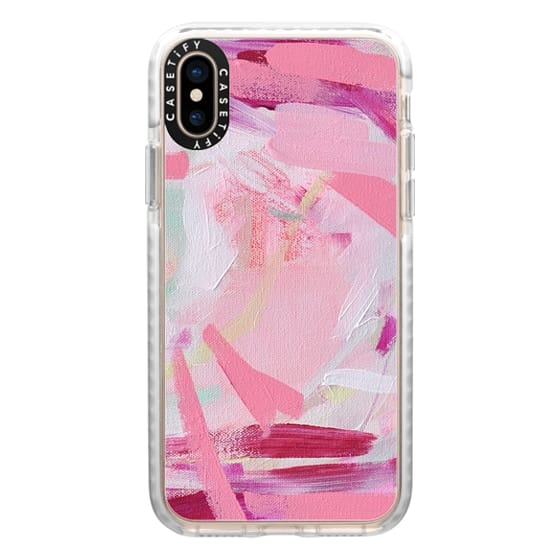 iPhone XS Cases - Pink Farm by Britt Bass Turner