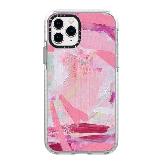 iPhone 11 Pro Cases - Pink Farm by Britt Bass Turner