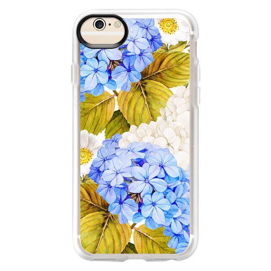 iPhone 6 Cases - Blue Hydrangea