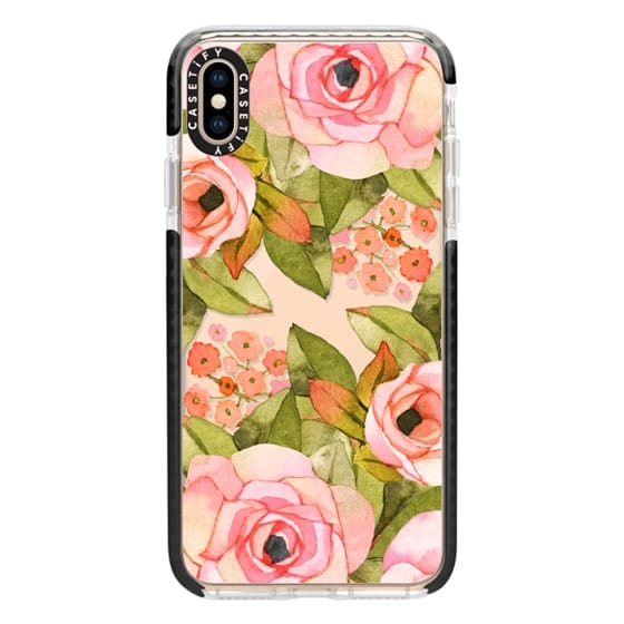 iPhone XS Max Cases - Rose bouquet