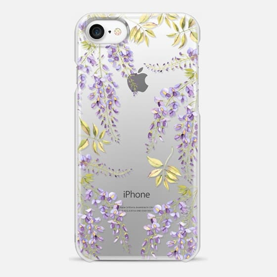 iPhone 7 Funda - Wisteria blossom