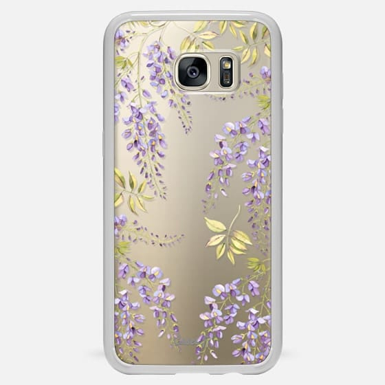Galaxy S7 Edge Case - Wisteria blossom