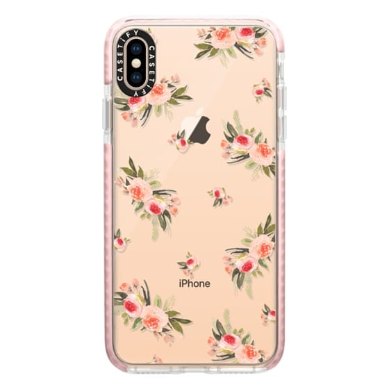 iPhone XS Max Cases - Bohemian bouquets