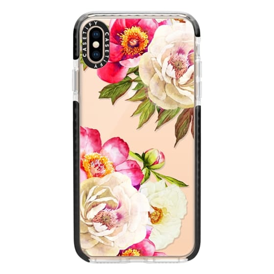 iPhone XS Max Cases - Peonies