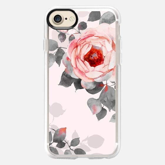 Rose watercolor - Classic Grip Case