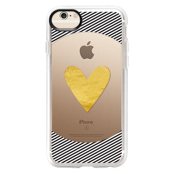 iPhone 6 Cases - Golden heart
