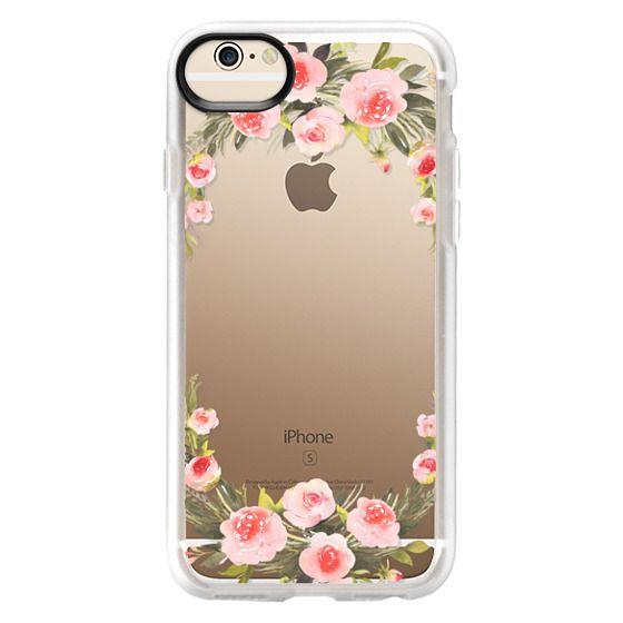 iPhone 6 Cases - Bohemian rose wreath