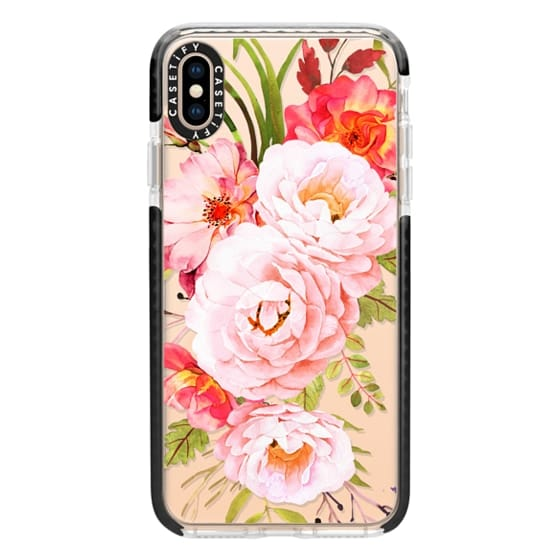 iPhone XS Max Cases - Bohemian roses