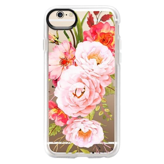iPhone 6 Cases - Bohemian roses