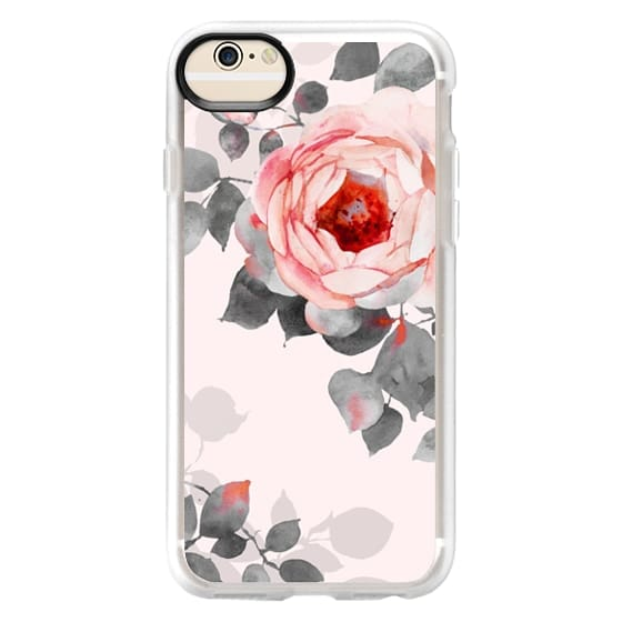 iPhone 6 Cases - Rose watercolor