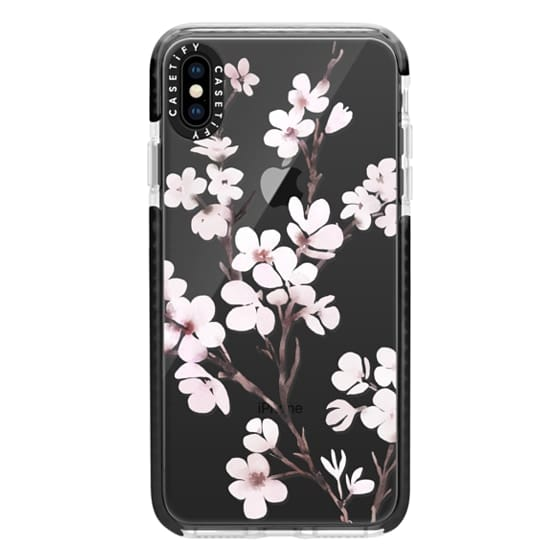 iPhone XS Max Cases - Cherry blossom