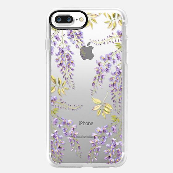 iPhone 7 Plus Case - Wisteria blossom