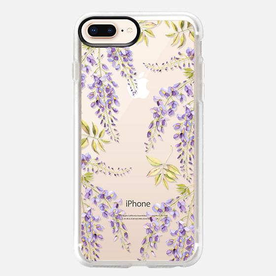 iPhone 8 Plus Coque - Wisteria blossom